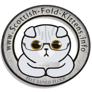 Scottish Fold Kitten info logo imprint Faltohr Kätzchen Katze Kater logo impresusm
